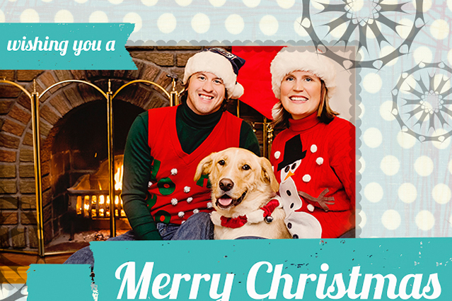 Modern Christmas Card - Gaune Studios - Photography Studios - Winnipeg Manitoba