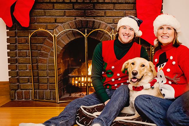 Nostaliga-Style Holiday Photo - Gaune Studios - Photography Studios - Winnipeg Manitoba